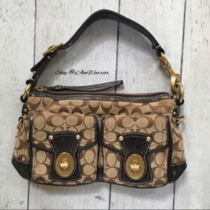 Authentic Coach 65th Anniversary hobo bag